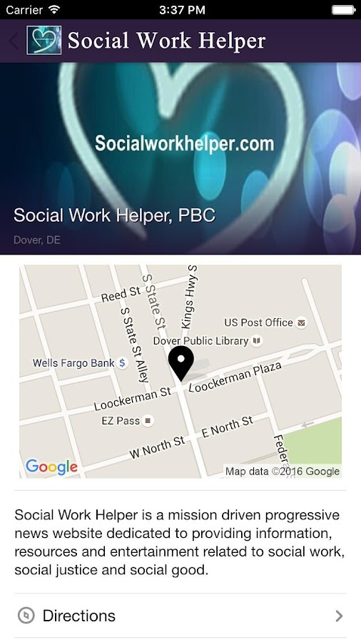 Social Work Helper- screenshot