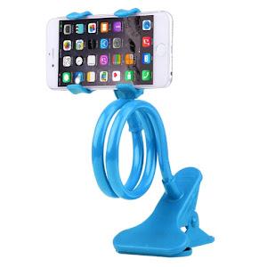 Set 2 bucati - Suport flexibil pentru telefon, clips de prindere