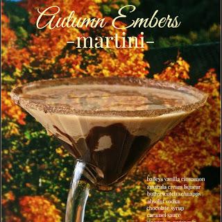 Autumn Embers Martini.