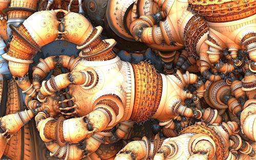 Knotted Up by Ricky Jarnagin - Illustration Abstract & Patterns ( abstract, ricky jarnagin, mandelbulb, dsynegrafix, 3d art, fractal )