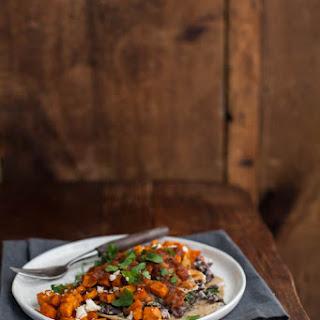 Huevos Rancheros with Roasted Sweet Potato