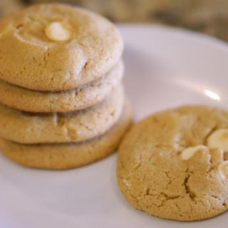 Gluten-free Peanut Butter White Chocolate Chip Cookies