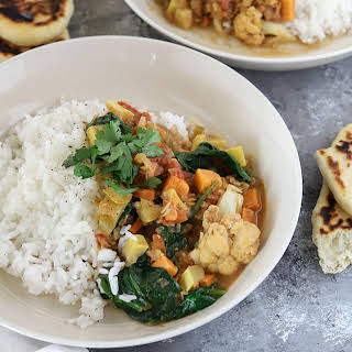 Vegetable Coconut Curry.