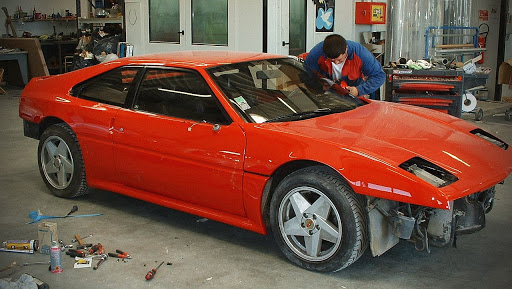 venturi 260 véhicule de prestige en restauration