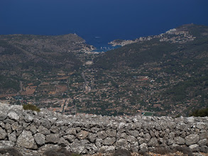 Photo: Port de Sóller from Serra d'Alfàbia (hike 48)