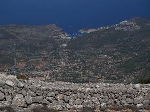 Photo: Port de Sóller from Serra d'Alfàbia (hike 48)