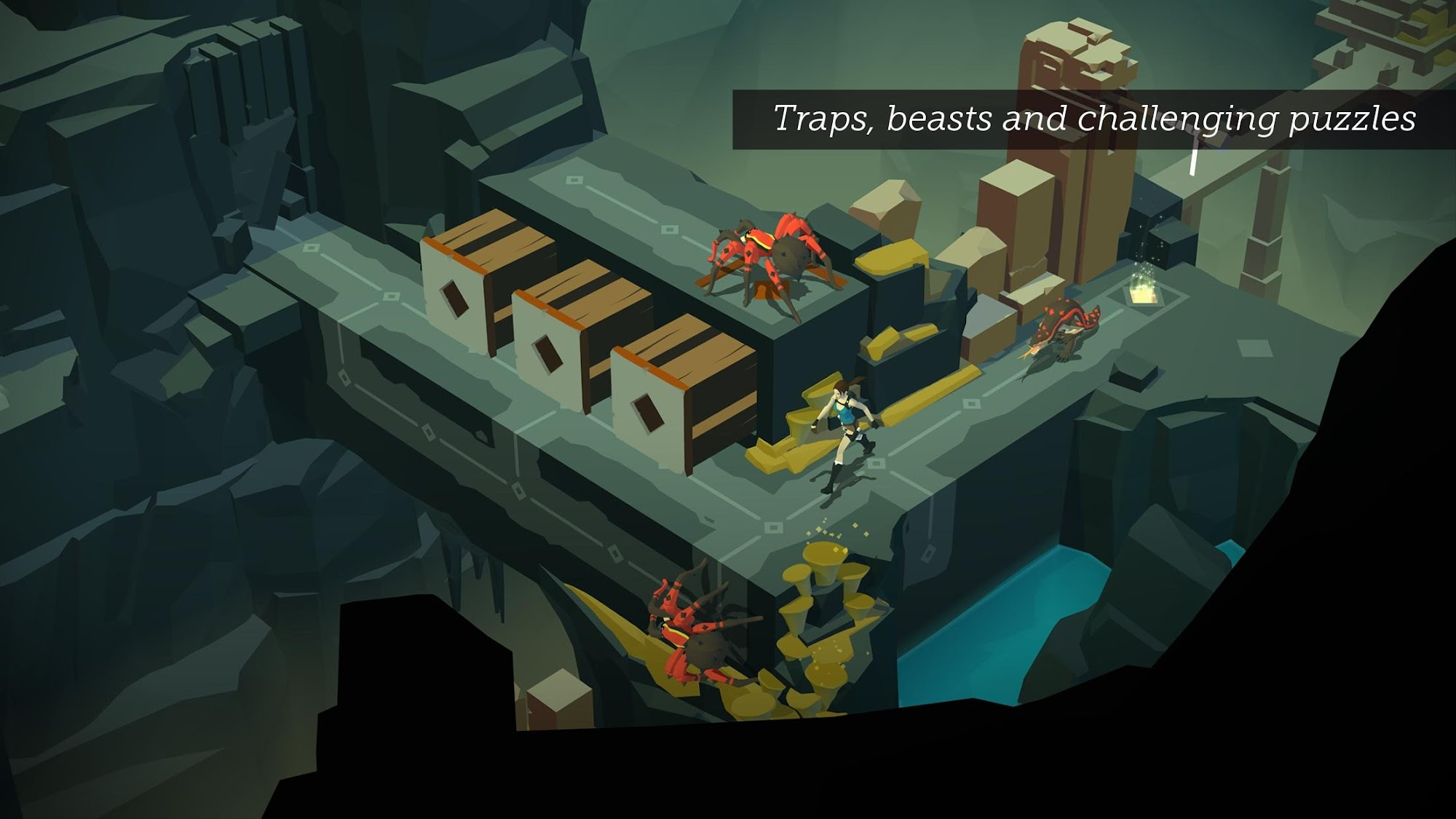 Lara Croft GO screenshot #2