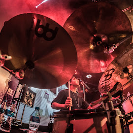 CYMBALOHOLIC by Baibhav Konwar - People Musicians & Entertainers ( concert, band, drummer, musician, nikon, drums )