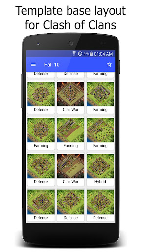 Maps for Clash of Clans War 1.7 screenshots 1