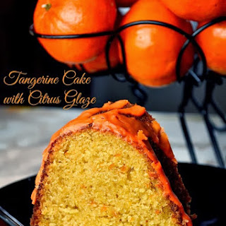 Tangerine Cake with Citrus Glaze & an Eggland's Best Giveaway
