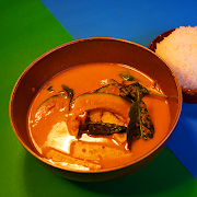 Orange Curry of Ontario Squash w/Chicken