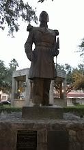 Photo: Gen. Zaragosa, facing south towards Mexico- Cinco de Mayo hero - Laredo