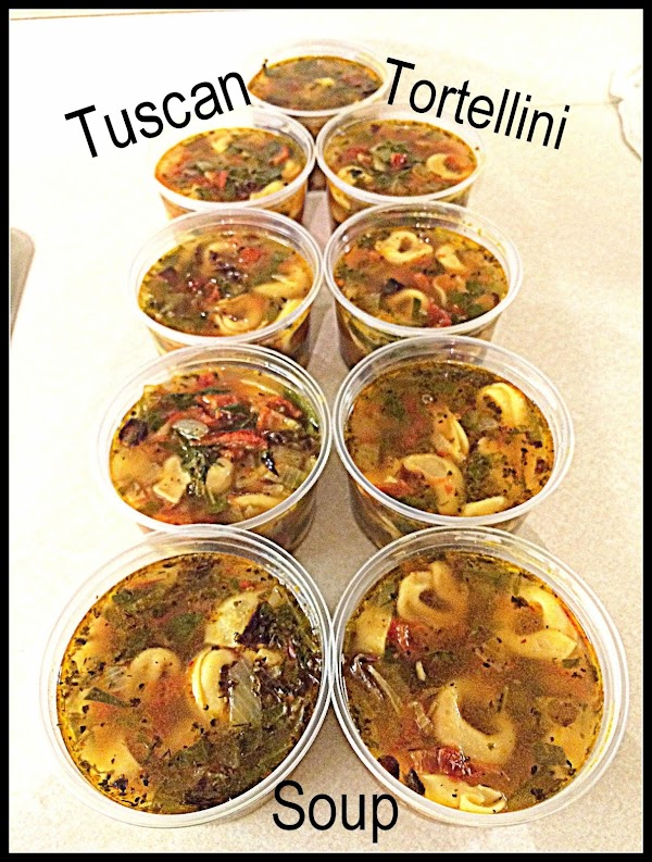 Oct. 11, 2015 --- Made a double batch of this soup for a food...