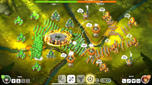 Télécharger Mushroom Wars 2 - RTS et Tower Defense Épique mod apk screenshots 5