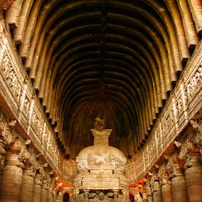 ajanta cave by Dola Das - Buildings & Architecture Statues & Monuments