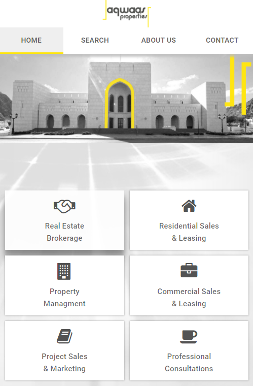 Aqwaas Properties- screenshot