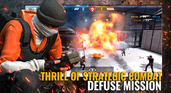 Critical Ops: Reloaded Mod Apk MOD (Enemy on Minimap) 4