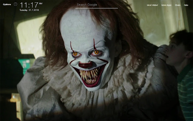 Pennywise It FullHD New Tab Wallpapers