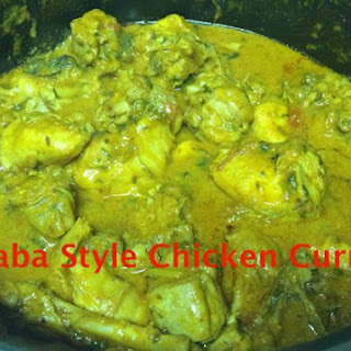 Daba Style Chicken Curry