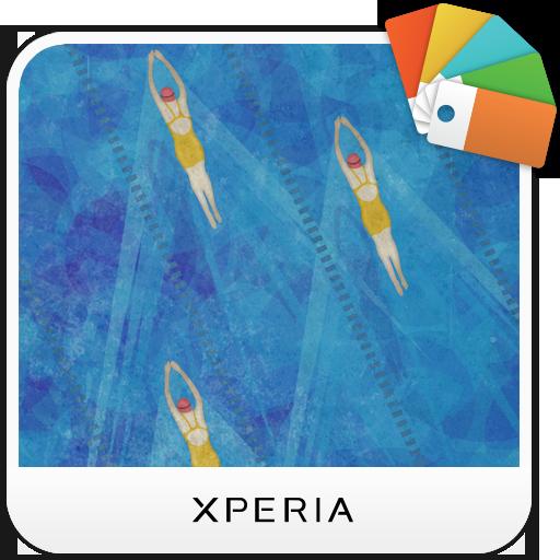 XPERIA™ Swimming Theme