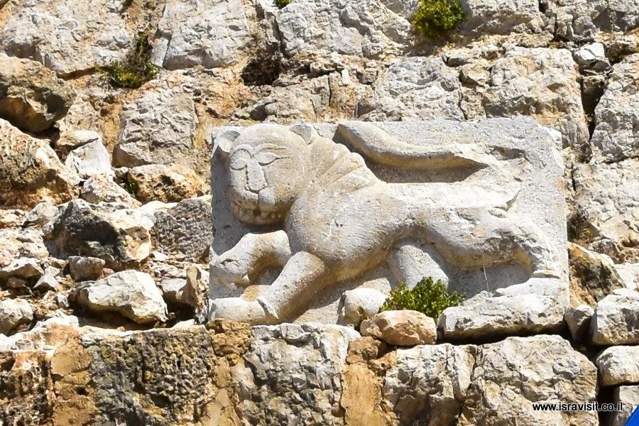 Крепость Нимрод - лев Бейбарса.