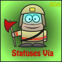 Statuses Via icon