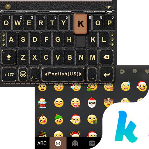 Leather Kika Keyboard Theme