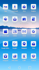 Azer Blue Icon Pack screenshot 2