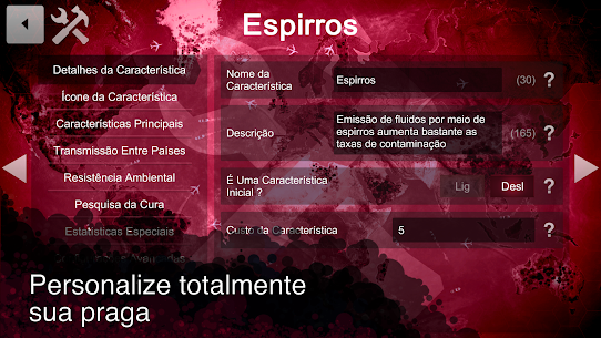 Plague Inc: Criador de Cenário 1.2.1 Mod Apk Download 4