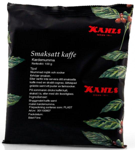 Kardemumma, smaksatt kaffe – Kahls