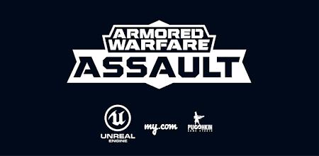 Armored Warfare: Assault APK poster