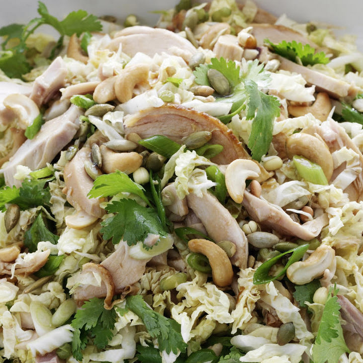 Cashew and Cabbage Chicken Salad