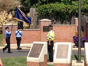 Photo: Memorial Day at Huntingdon Valley Library