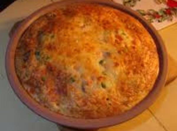 Impossible Turkey'n Stuffing Pie Recipe