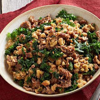 Italian Sausage & Kale Stuffing