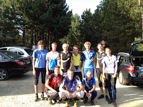 Photo: O-training in Font-Romeu with French club from Douai