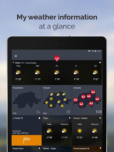 Weather Alarm: Forecast & alerts for Switzerland 5.18.2.9 screenshots 10