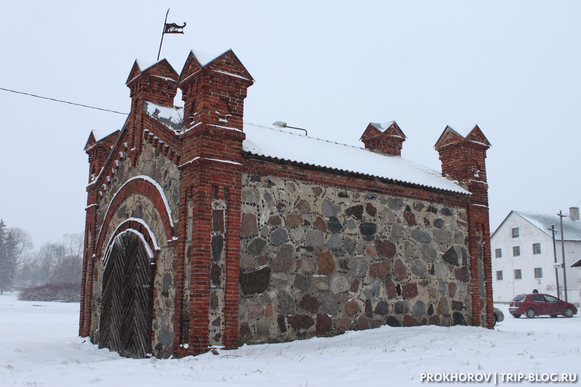 Древнее строение в Раквере