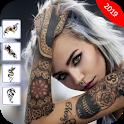 Tattoo On My Photo -Tattoo Designs & Tattoo Editor icon