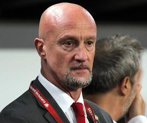 Le sélectionneur hongrois Marco Rossi ému après le partage face à la France