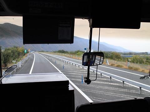 阪急バス「よさこい号」昼行便 2890 車窓 その5