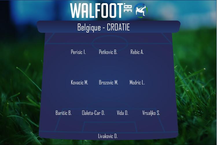 Croatie (Belgique - Croatie)