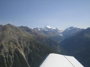Photo: A view of the Swiss Alps http://www.swiss-flight.net