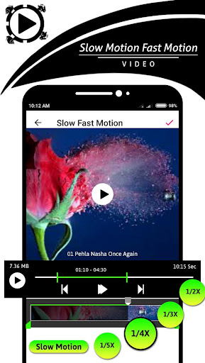 Slow Motion - Fast Motion Video 1.0.1 screenshots 2