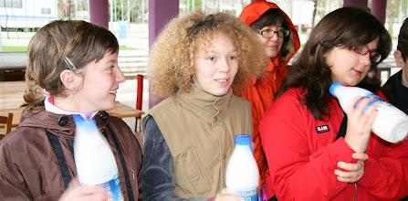 Photo: La cagliatura del latte: dal latte alformaggio