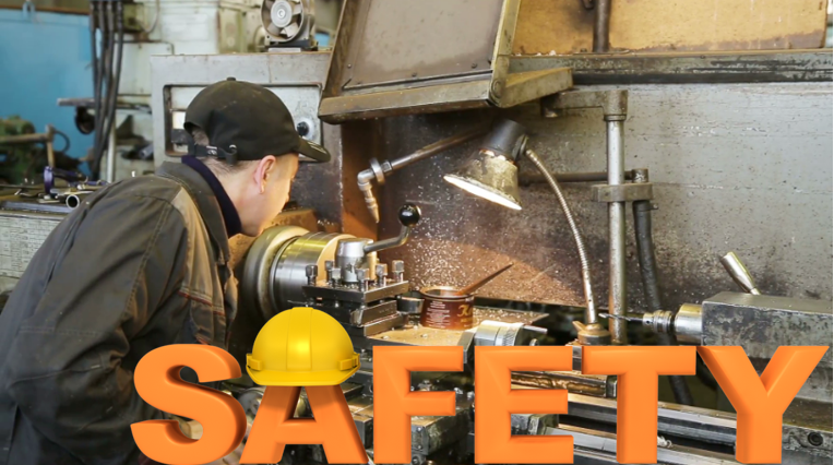 Safety Precautions while Working on Lathe Machine