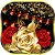Red Gold Rose Gravity Keyboard file APK Free for PC, smart TV Download