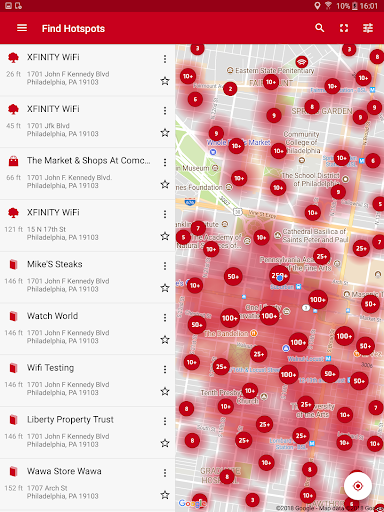 Xfinity WiFi Hotspots - Apps on Google Play