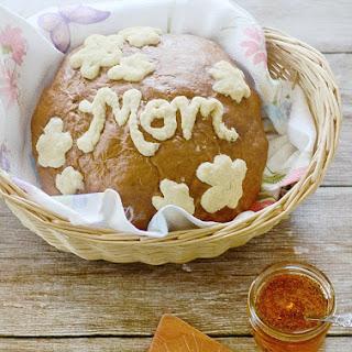 Mother's Day Message Honey Wheat Bread Mother's Day Honey Wheat Message Bread adapted from this Fleischmann's® Yeast