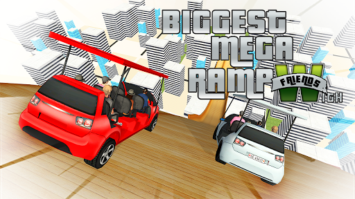 Biggest Mega Ramp With Friends - Car Games 3D apkpoly screenshots 13